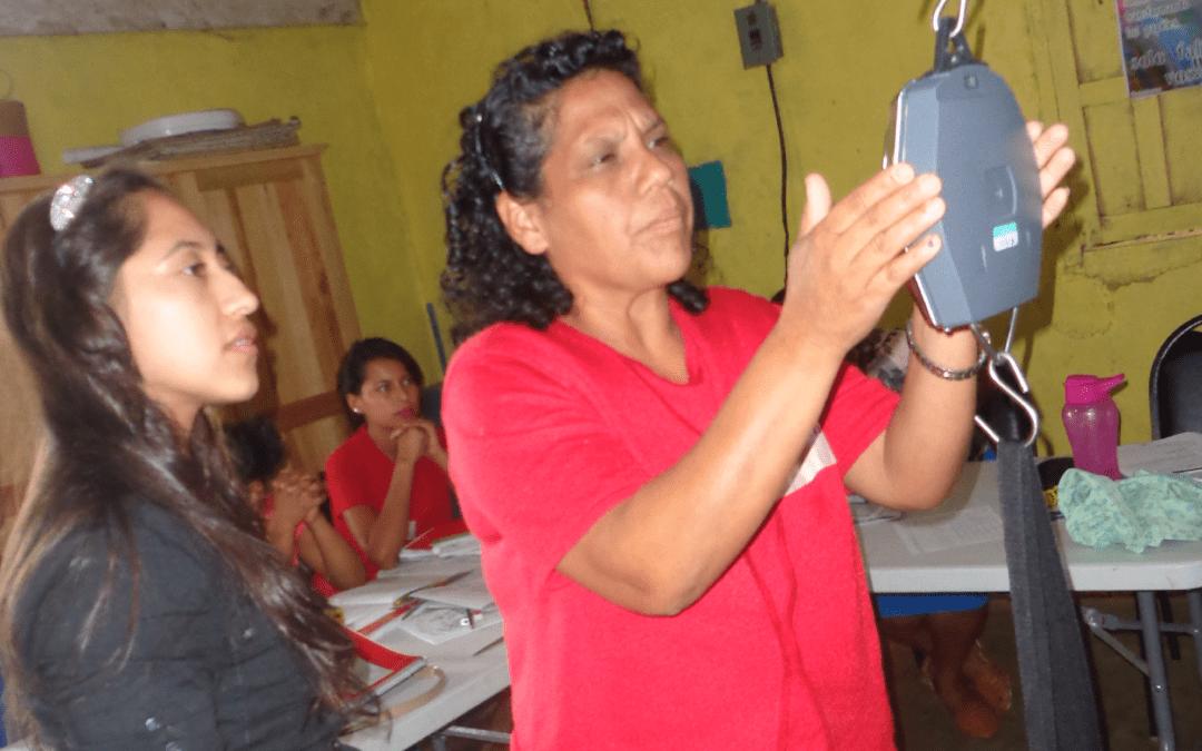 De niña a lideresa comunitaria y monitora de salud